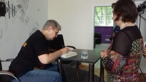 Мария Семенова_встреча с читателями