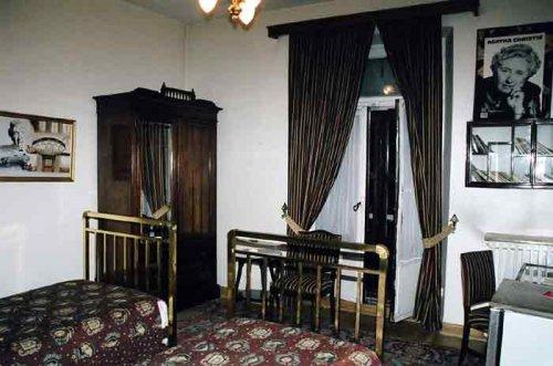 Номер Агаты Кристи в стамбульском отеле Pera Palace Hotel