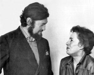 Хулио Картасар и Зофья Хадзиньска