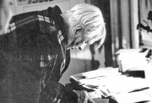 К.И. Чуковский Фото Л.А. Шилова. Весна 1964