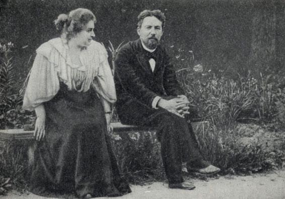 Лика Мизинова и Чехов1