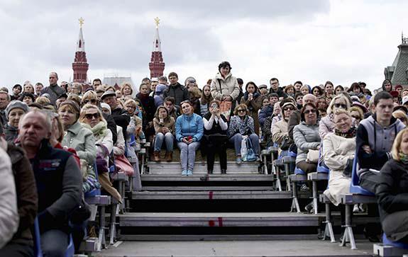 радзинский публика красная площадь
