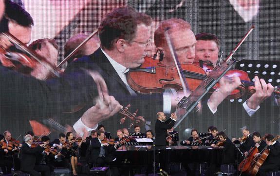 Красная площадь, фестиваль, открытие, Михеев