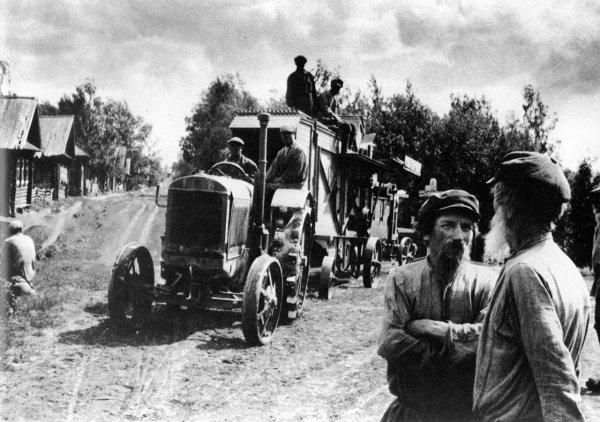 Начало коллективизации. 1929 год
