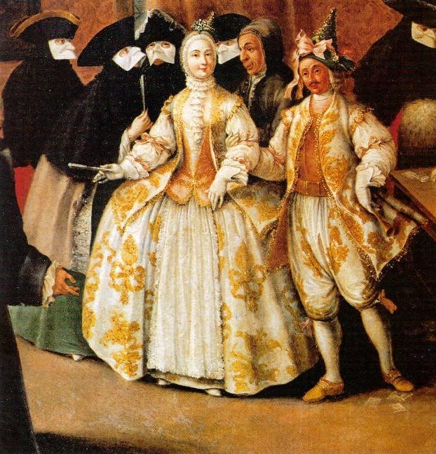 Венецианский костюм 17 век
