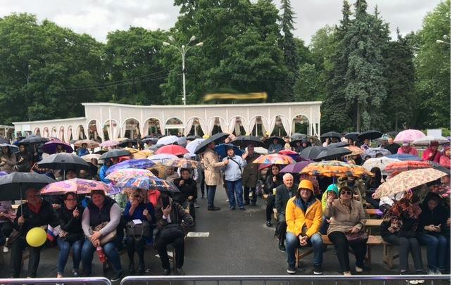 Татьяна Толстая встреча с читателями в парке Сокольники