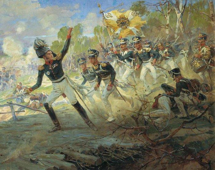 Подвиг солдат генерала Н.Н. Раевского под Салтановкой 11 июля 1812 года