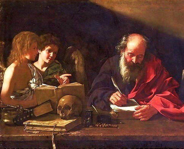 Св. Иероним - переводчик Вульгаты и покровитель переводчиков.  Картина Эль Греко (1610)