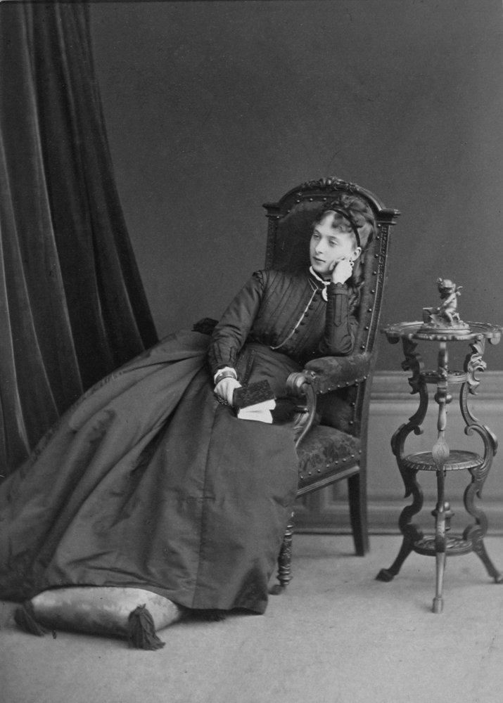 Катя Фотография С. Л. Левицкого, [1869] Центральный государственный архив кинофотофонодокументо