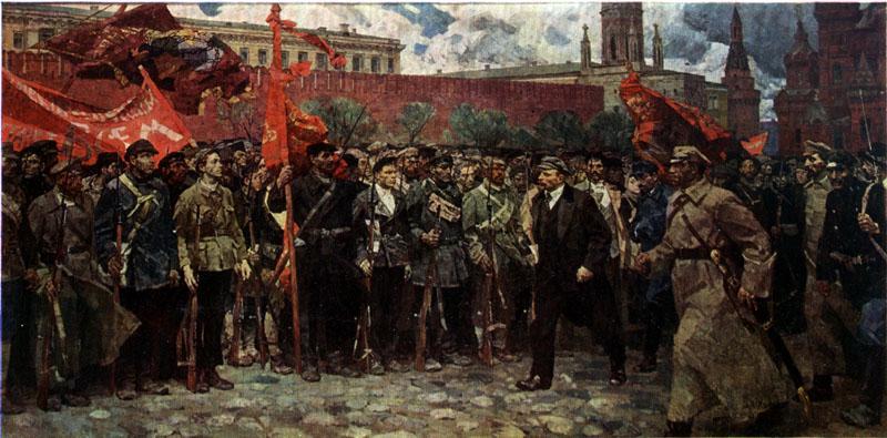 В.Ф. ХОЛУЕВ. Солдаты революции. (1964)