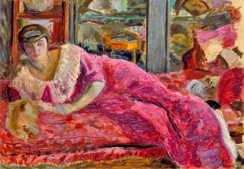Пьер-Боннар---Мизиа-на-диване---1914