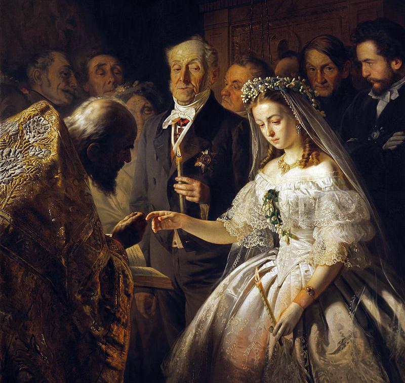 Случай на охоте Тургенев Неравный брак