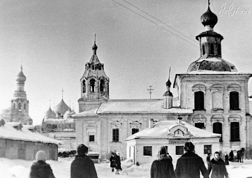 Вологда в начале 1960-х