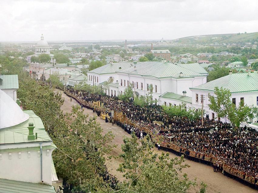 Вид с колокольни, Белгород