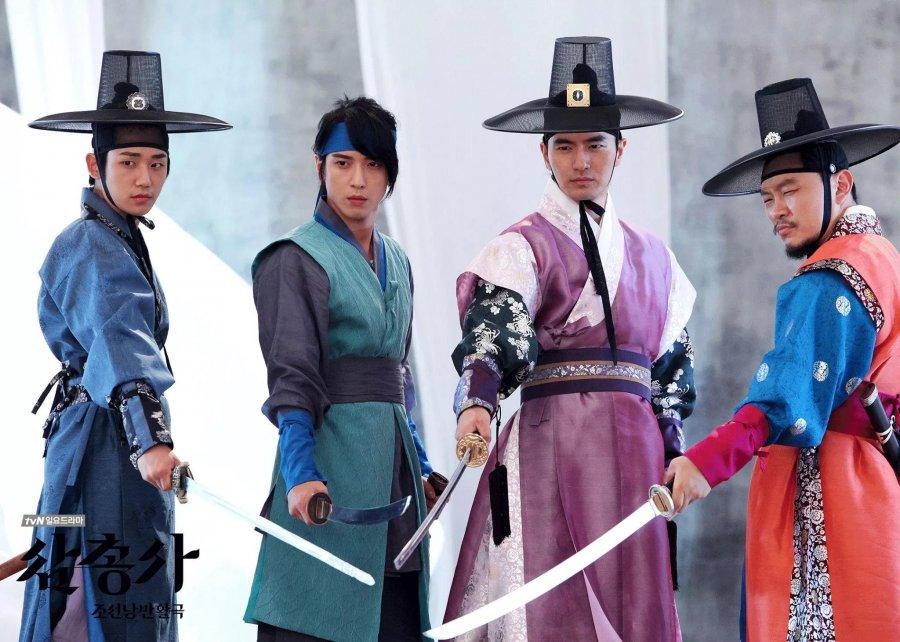 Три мушкетера  Ким Бён-су