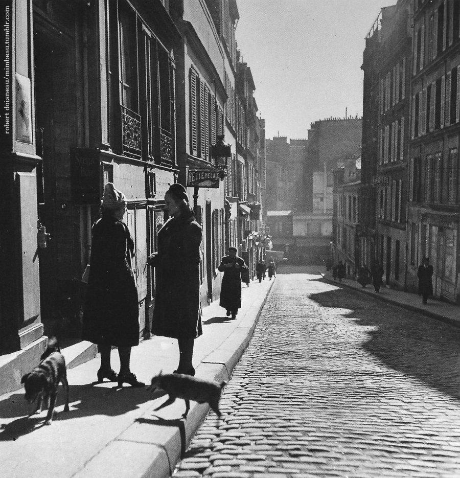 1935. Рю Толозе Фотограф Робер Дуано