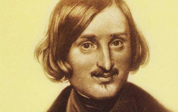 Гоголь, гравюра Моллера