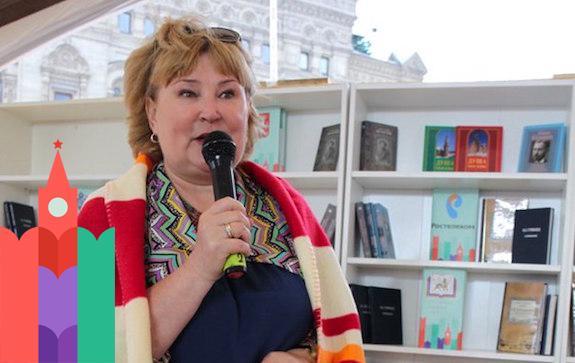 Встреча с Татьяной Поляковой на книжном фестивале 'Красная площадь'
