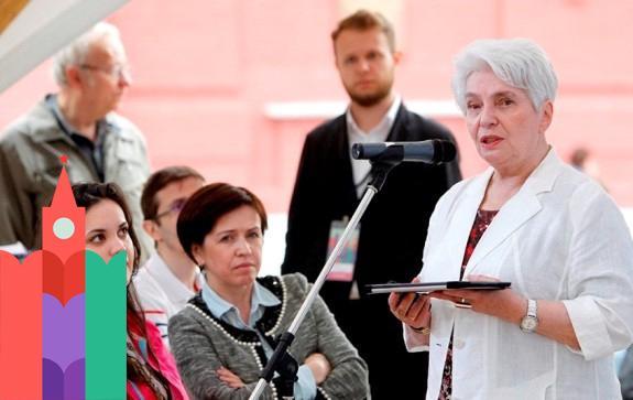 Наталья Солженицына на книжный фестиваль красная площадь