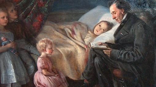 Андерсен с детьми