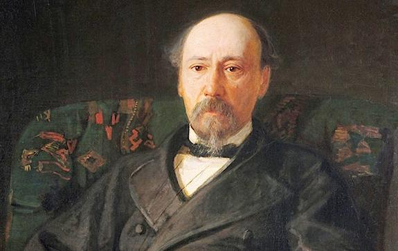 Ге. Портрет Некрасова