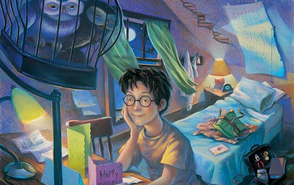 Иллюстрация к Гарри Поттеру