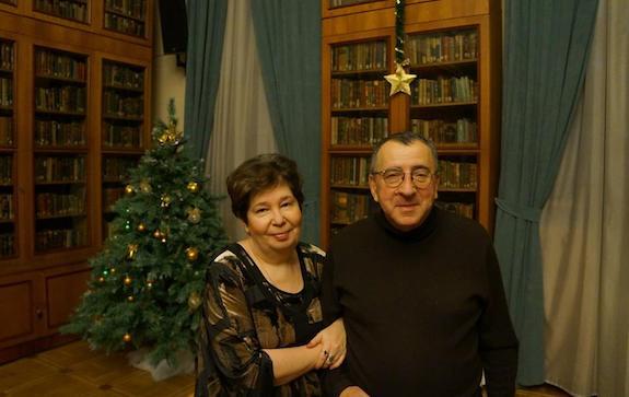 Ольга Варшавер и Александр Ливергант