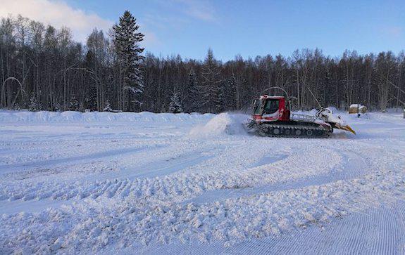 Ледяная библиотека на Байкале