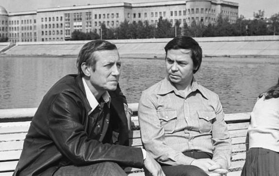 Распутин и Евтушенко
