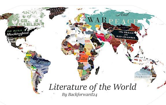 литературная карта