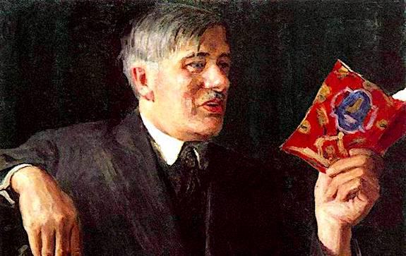 чуковский на портрете Грабаря