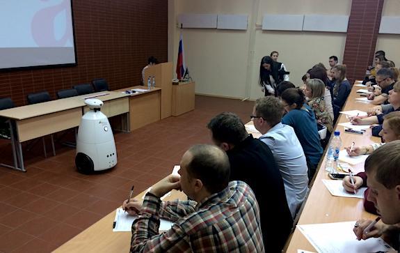 Робот диктует Тотальный диктант