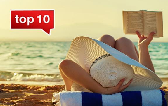 Какие книги читают в отпуске?