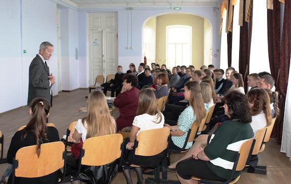 Кольчурин перед публикой в Ильинском