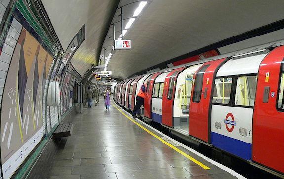 Сердце России в лондонском метро