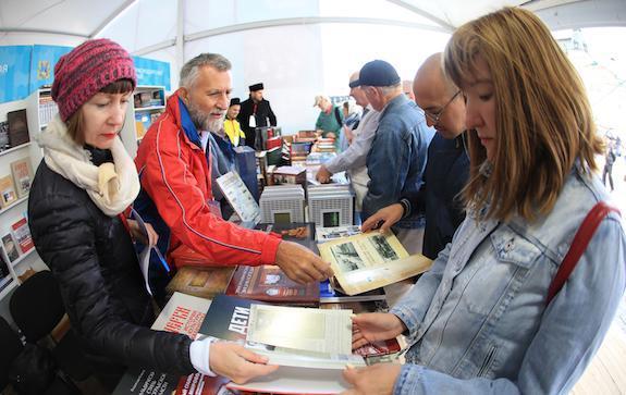 Книги на фестивале Красная площадь