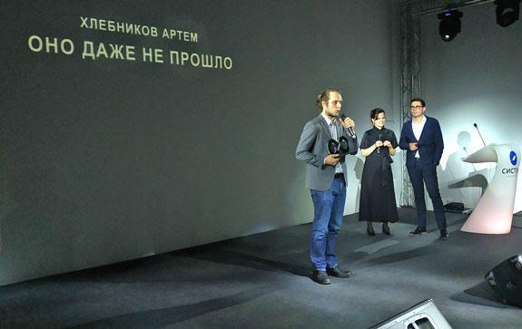 На 20 ярмарке нон-фикшн прошла первая церемония вручения литературной премии «Будущее время»