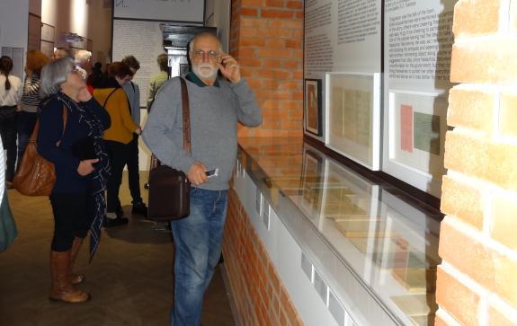 Статья об открытии выставки, посвященной Осипу Мандельштаму