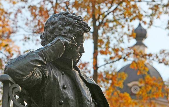 пушкин-санкт-петербург