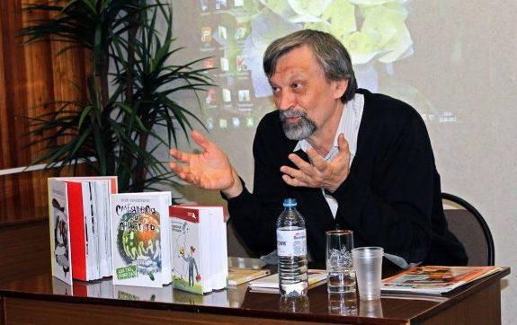 Юрий Нечипоренко о книжных выставках