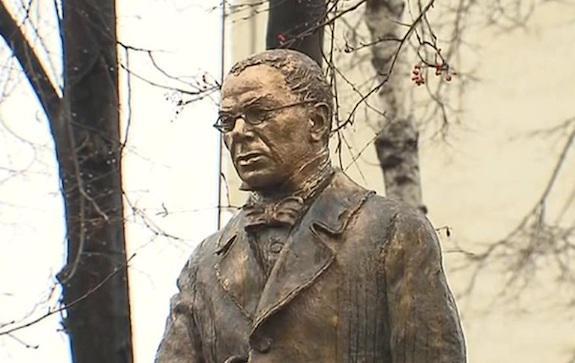 Памятник Петру Вяземскому в Москве