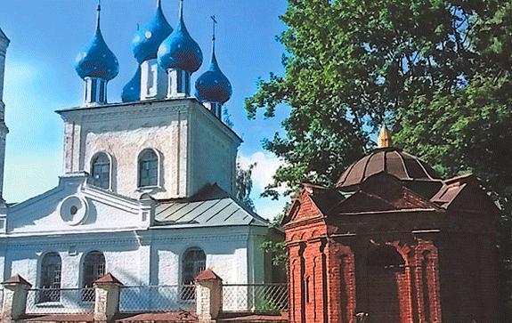 Николай-Некрасов-Часовня-в-Аббакумцево