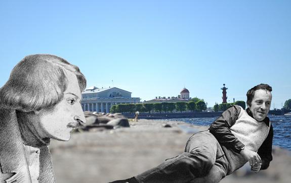 Восьмидесятилетие Иосифа Бродского: Васильевский остров, птица-тройка и поезд на равнине