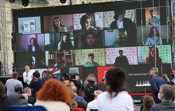 Как прошла четвертая церемония вручения премии «Лицей» им. Александра Пушкина для молодых писателей и поэтов, вынужденно совместившая офлайн- и онлайн-форматы