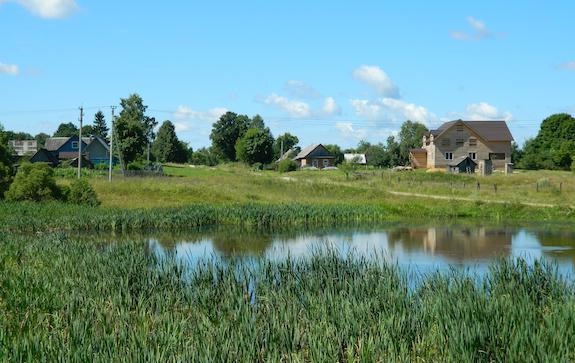 Село Брынь Калужской области