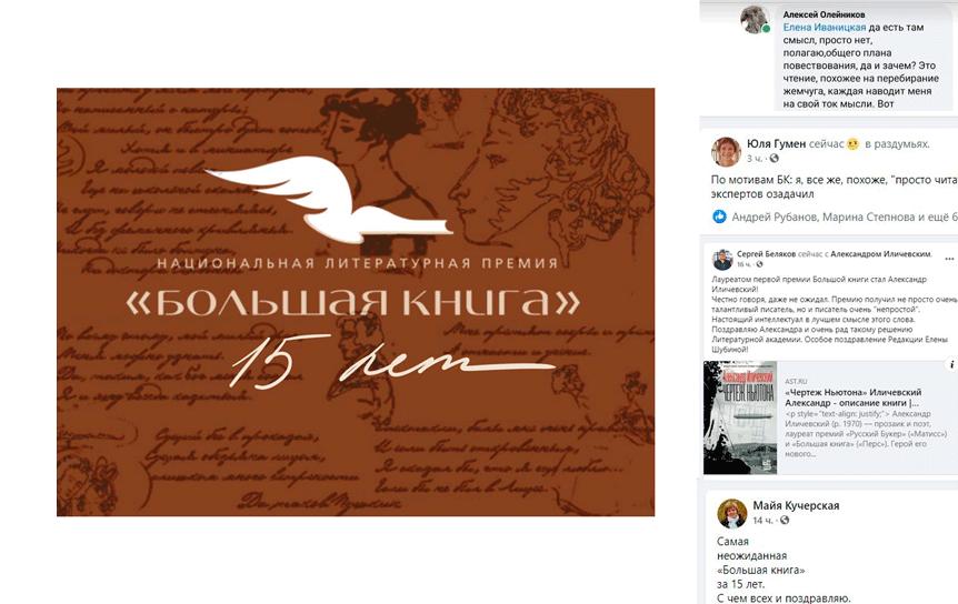 10 декабря объявили победителей литературной премии 'Большая книга' / godliteratury.ru