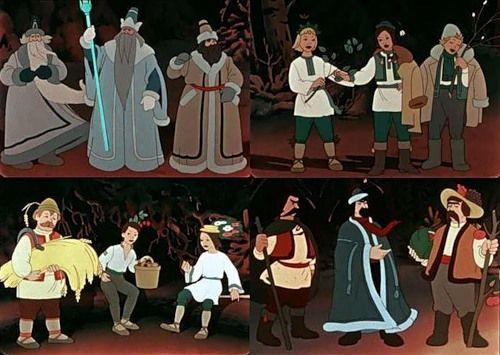 Кадр из мультфильма '12 месяцев'