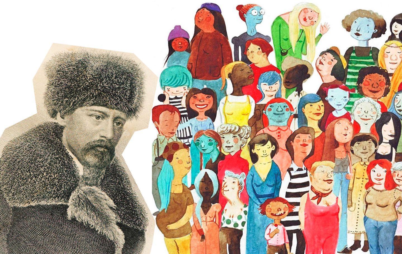 Некрасов-200: есть женщины в русских селеньях? Конкурс / иллюстрация Karina Cocq/ bibliotecapaulharris.com
