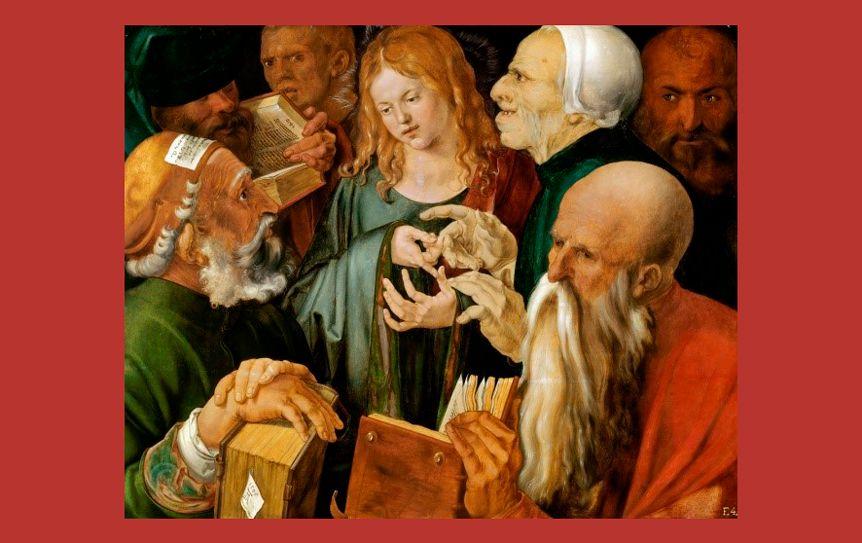 Альбрехт Дюрер. Христос среди учителей, 1506