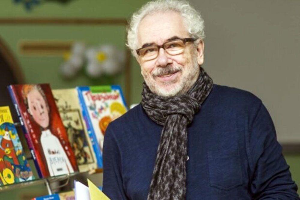 Стихи и ободряющую улыбку Михаила Яснова дети будут помнить всю жизнь / Из архива Дмитрия Шеварова